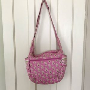 💐5/$25 Vera Bradley Retired Bermuda Pink Bag